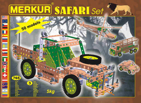 metal construction toys instructions