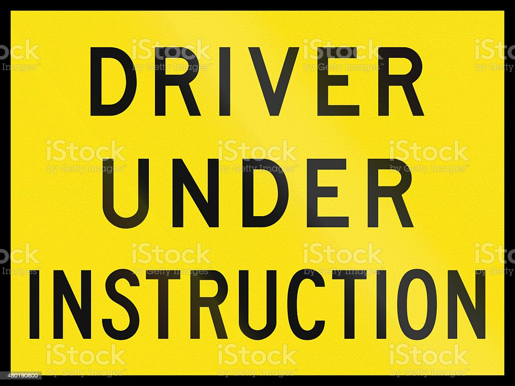 under the instruction of