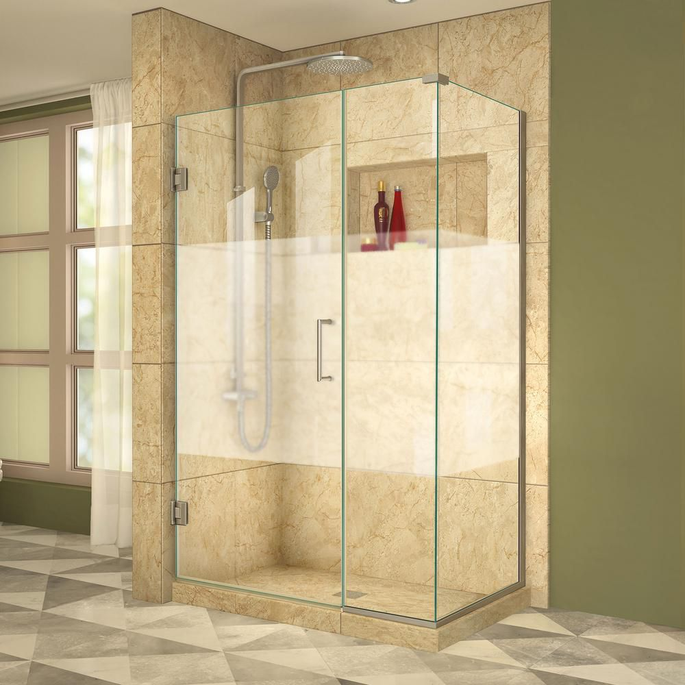 instructions to install u channel in shower