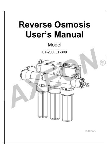 watts water reverse osmosis assembly instructions